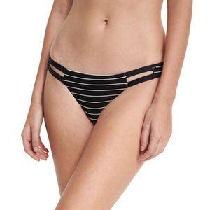 Vitamin A Neutra Hipster Strappy-Side Swim Bottom